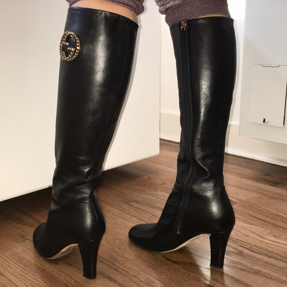 1e26ee67d Gucci Shoes | Final Price High Heel Boots | Poshmark